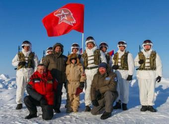 Юнармейцы приняли присягу на Северном полюсе