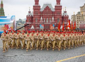 Парад на Красной площади 9 мая 2017