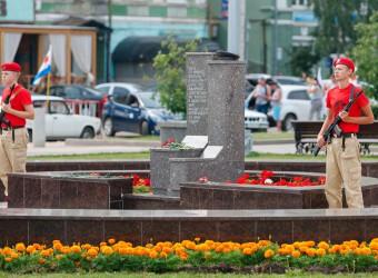30 июля 2017 г. Самара, День ВМФ. Памятник Соловецким юнгам.