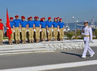 28.07.2017 г. Североморск, репетиция парада ко Дню ВМФ.